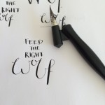 Lettering | www.lauratosney.co.uk